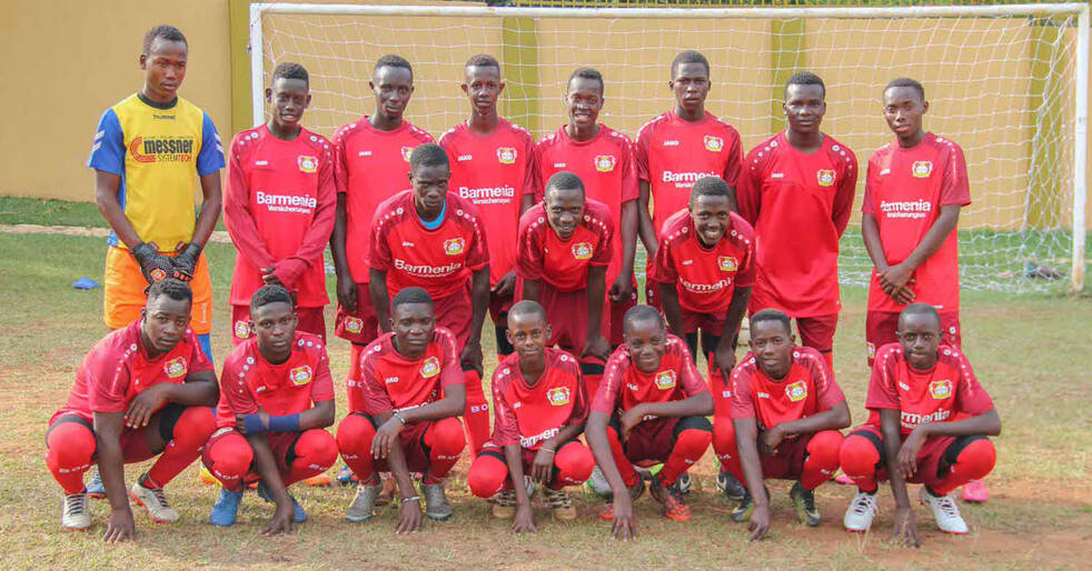 A small piece of German professional football in Uganda