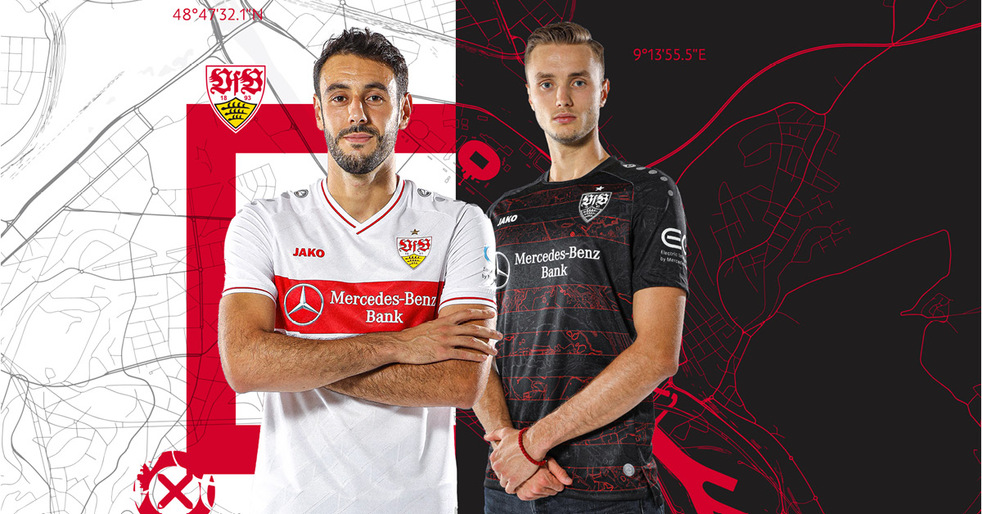 Jerseys with tradition and the homeland on the heart: That's the new outfit of VfB Stuttgart