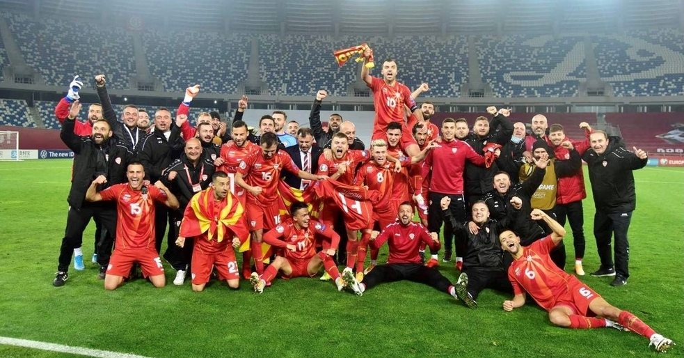 Northern Macedonia goes to the European Championships