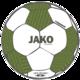 Trainingsbal Striker 2.0 wit/kaki/fluogroen Voorkant