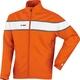 Presentation jacket Player orange/white Front View